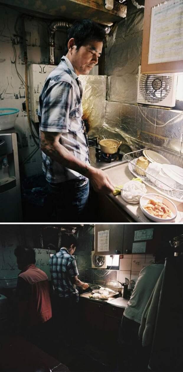 Вот как живут бедные корейцы, у которых нет денег на нормальное жилье