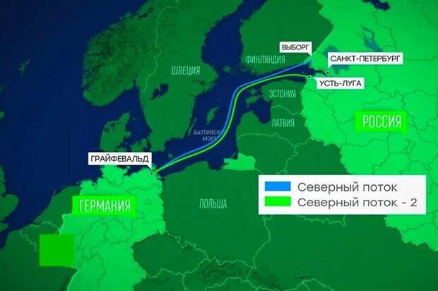 Ситуация в Германии прямо угрожает Северному потоку-2