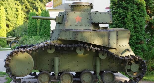 Т18 — самый первый танк Великой Отечественной Войны