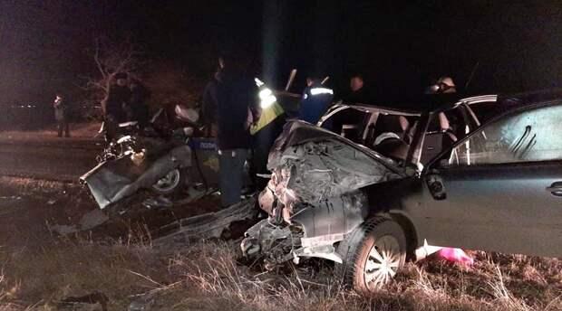 Трое полицейских погибли в ДТП в Крыму