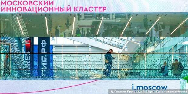 Сергунина: Московский инновационный кластер запустил сервис цифрового факторинга. Фото Д. Гришкин. mos.ru