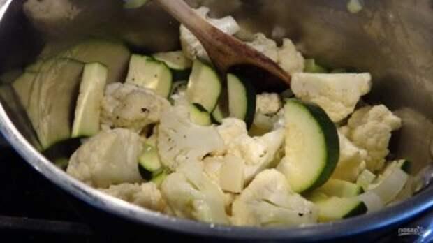 Суп с кабачками - фото шаг 2