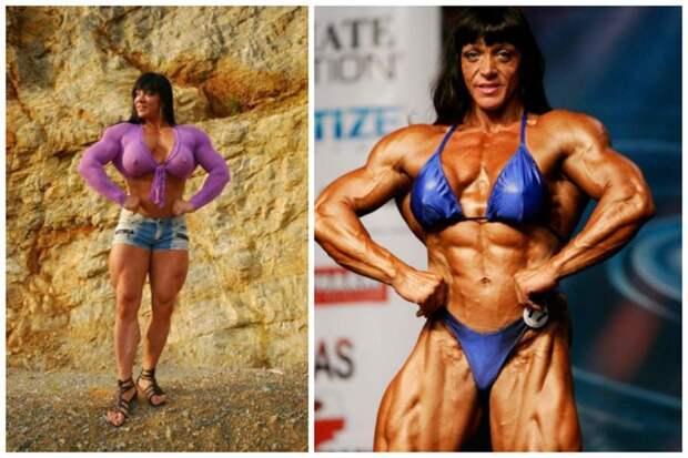 Яна Линке-Сиппл - женщина-мускул бодибилдеры, всячина, женщины, интересное, красота, культуризм, сила, спорт