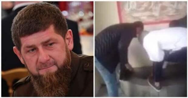 Кадыров отреагировал на видео с мытьем ног неизвестных в православном источнике (1 фото + 1 видео)