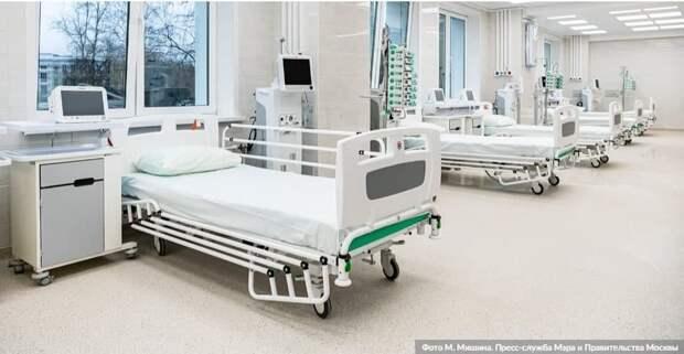 Собянин отметил значение резервных госпиталей в борьбе с пандемией COVID-19 / Фото: М.Мишин, mos.ru