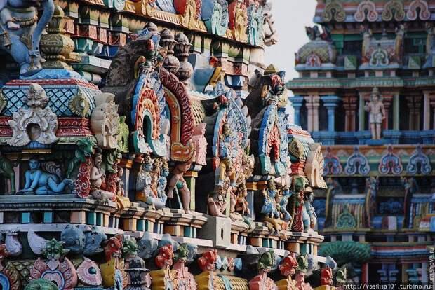 Храм Шри-Ранганатхашвами, Шрирангам. Пять чудес Южной Индии