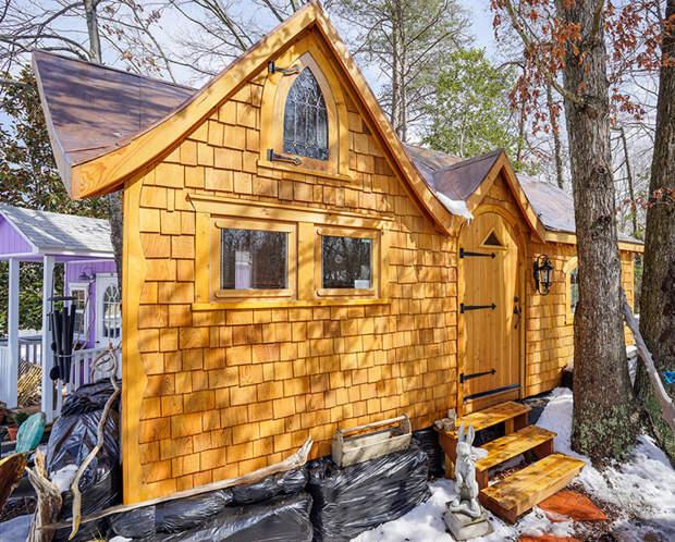 Вопреки американской мечте: люди живут в крошечных домах размером со спальню
