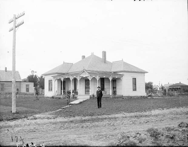 Как поднималась американская целина. Архивные фотографии пионеров Великих равнин конца 19-го века 36