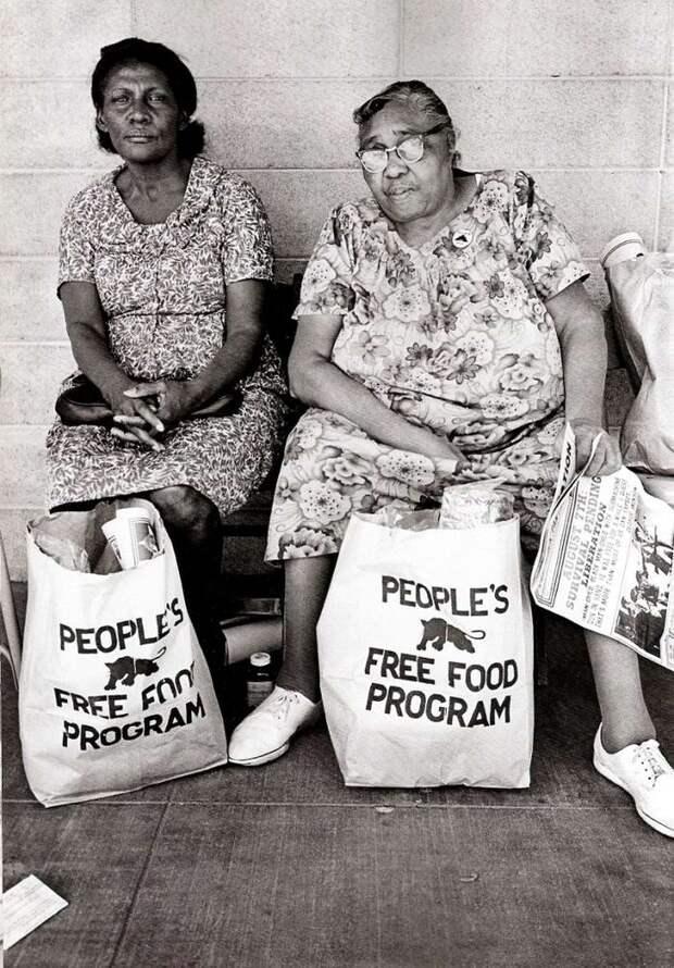 Социальные конфронтации в США 1960-х - 1970-х годов: Леворадикальная Партия черных пантер   (6)