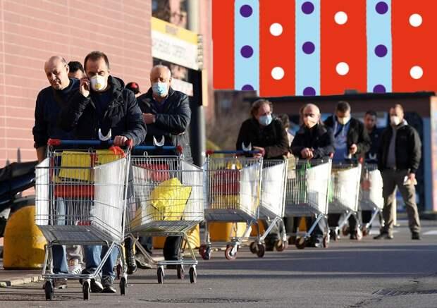 Безопасность во время эпидемии: эксперты объяснили правила похода в магазин