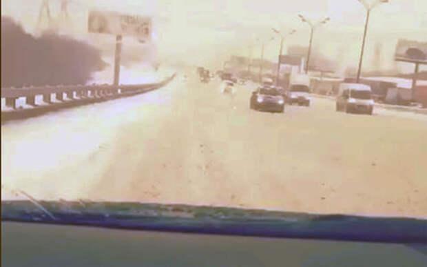 На МКАДе по встречке: видео очередного заезда мажоров
