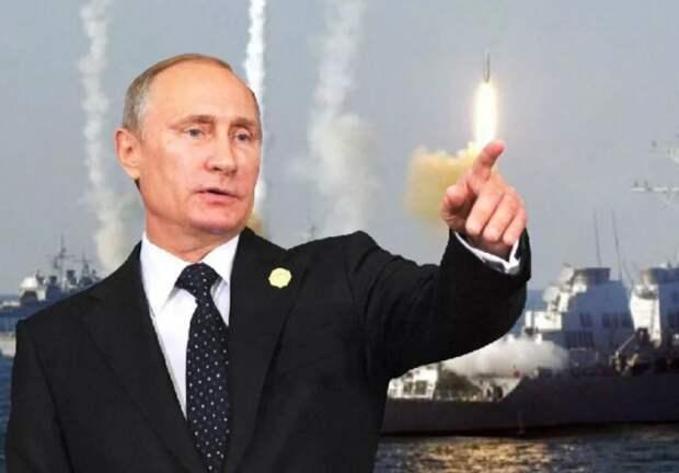 Россияне ответили анекдотом про Путина на «отрезанные от Донбасса корабли»