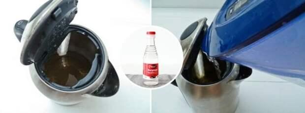 Как чистить чайник от нагара