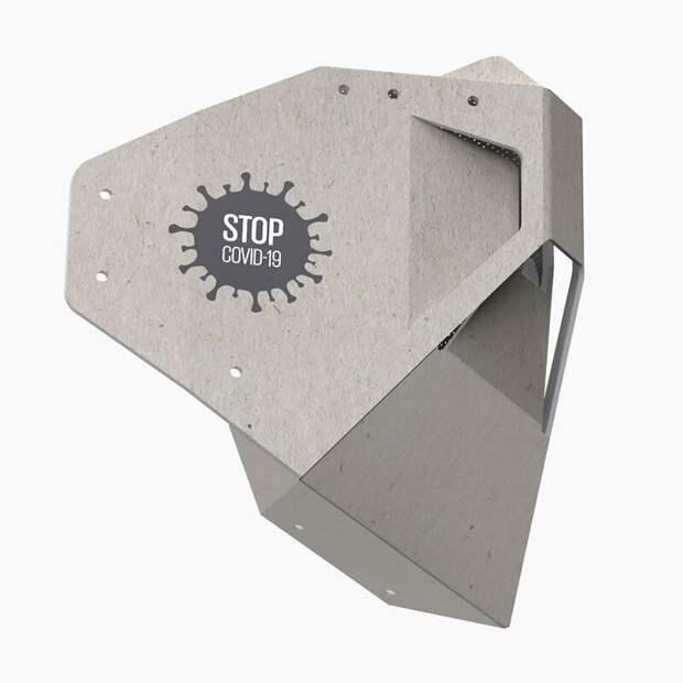 Российские дизайнеры создали защитную картонную маску со сменным фильтром