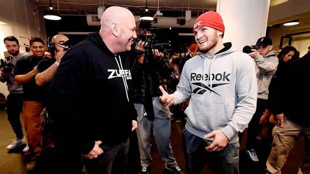 «Хабиб ушелбы вовремя, еслибы сделал это сейчас». Тактаров— оботмене UFC 249