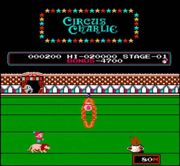 Circus Charlie Денди