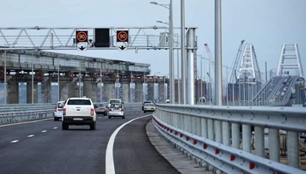 Какие проблемы испытывают автомобилисты в Крыму проезжая «Крымский мост»