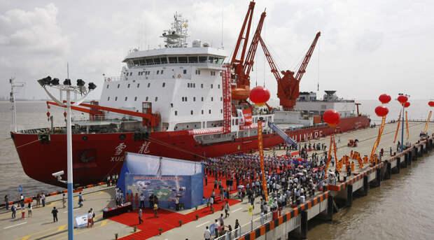 Противостояние США и КНР в Арктике: миф или реальность?