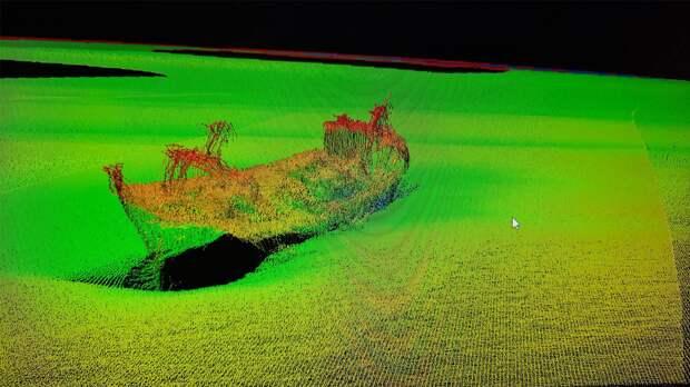 Ученые БФУ имени Канта сообщили о находке затопленного корабля на дне Балтийского моря