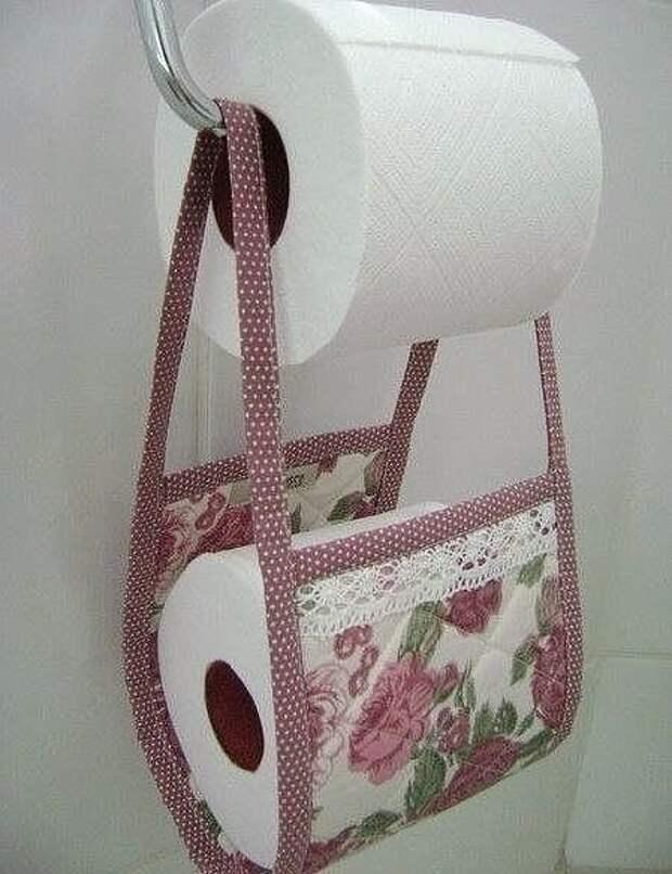 Храним туалетную бумагу красиво