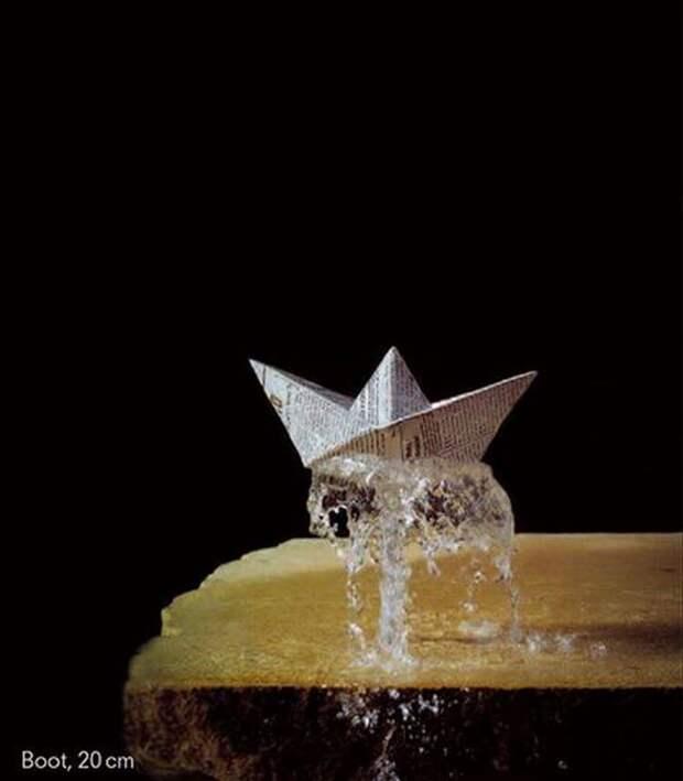 Чудо, рожденное водой и бронзой