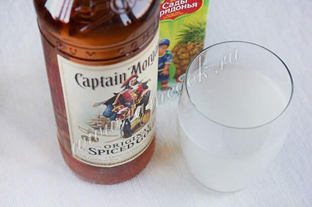 Спиртные напитки. Коктейль «Пина колада»