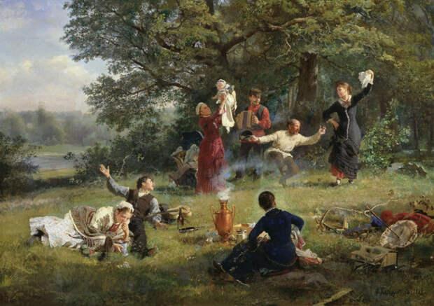 6 лучших картин про летний отдых на траве