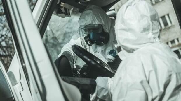 В ДНР показали дезинфекцию общественного транспорта на случай эпидемии COVID-19