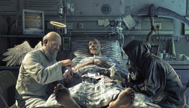 Загробный мир, околосмертный опыт, клиническая смерть