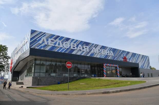 В Воткинске открыли ледовую арену «Знамя» на 410 зрителей