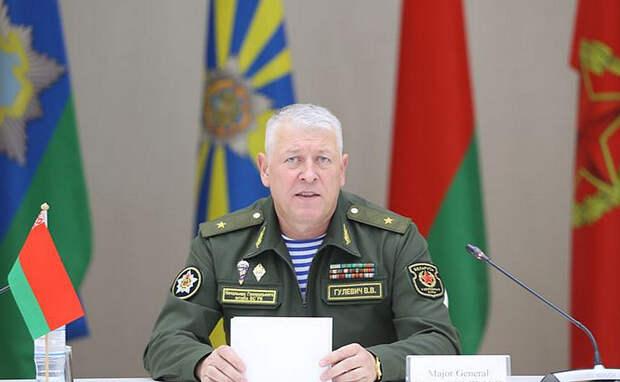 Начальник Генштаба ВС Белоруссии заявил о наращивании сил НАТО у границ страны