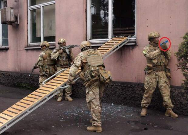 В Сети высмеяли учения ССО Украины с игрушечным пистолетом