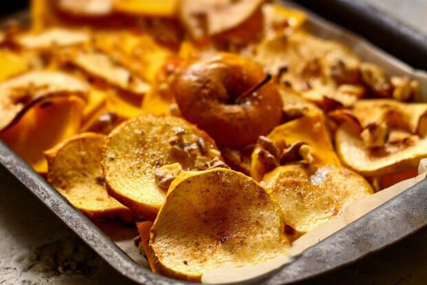 Простой рецепт вкусной тыквы в духовке