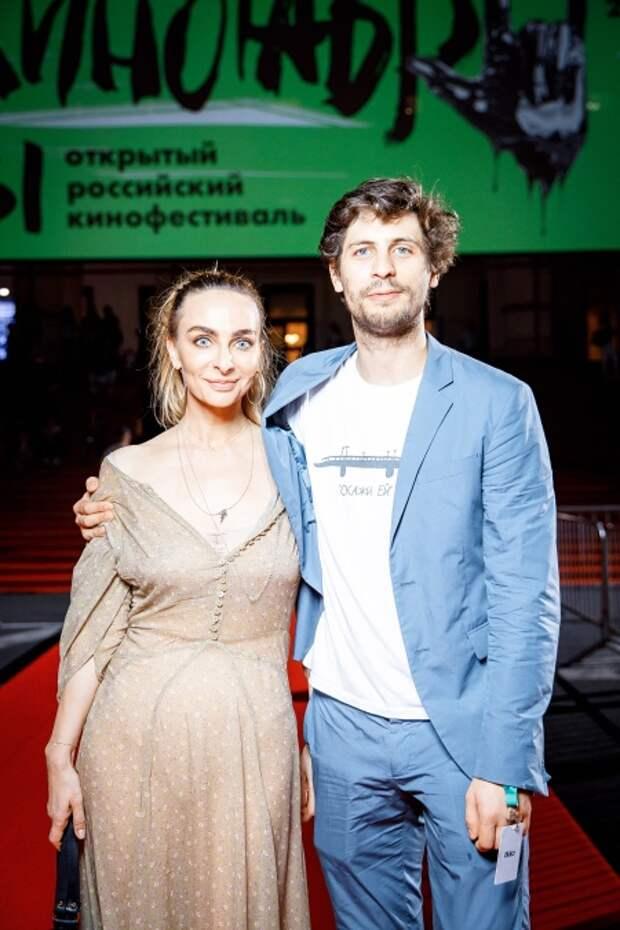Екатерина Варнава (украшения, Mercury) и Александр Молочников
