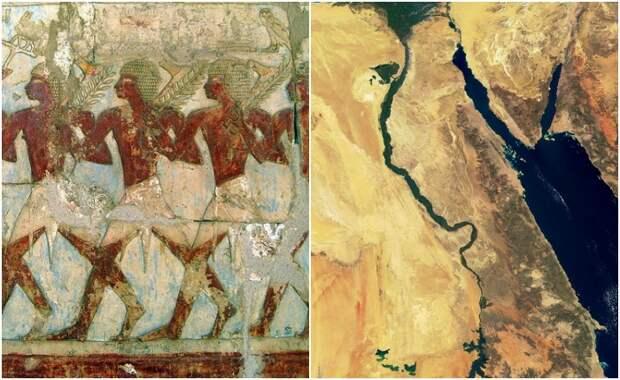 Феномен полумифичесой страны Пунт, из которой к древним еиптянам пришли их боги