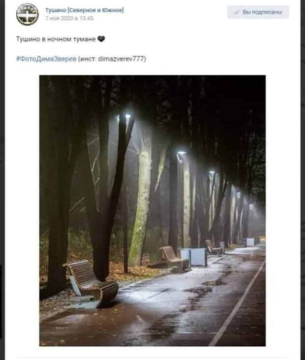 Фото дня: ночь, улица, фонарь…