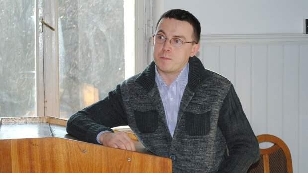 Украинский писатель Остап Дроздов