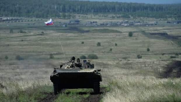 Впервые в истории российской армии стартуют гонки на БМП