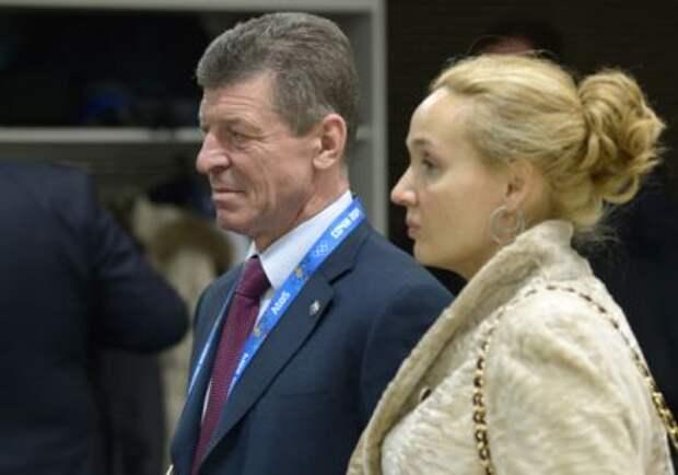 Дмитрий Козак и Наталья Квачева