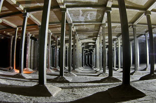 Подземные водохранилища вцентре Киева
