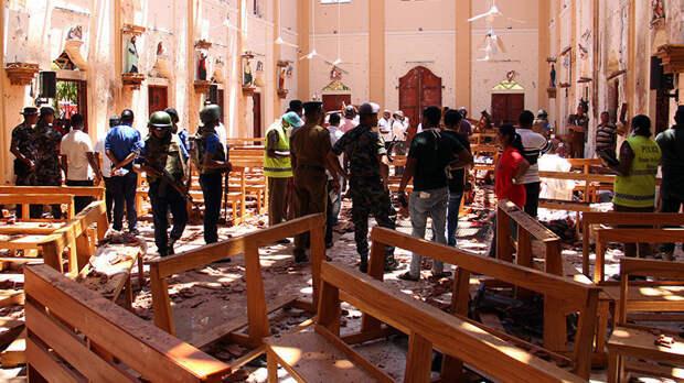 Число жертв взрывов на Шри-Ланке возросло до 290