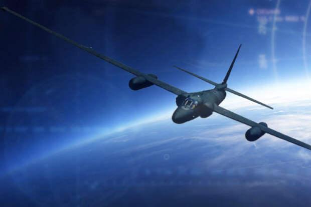 Полет на самолете-шпионе U-2 в ближний космос: видео из кабины пилота