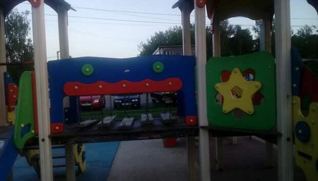 Детскую площадку на улице Орджоникидзе отремонтировали после жалобы жительницы