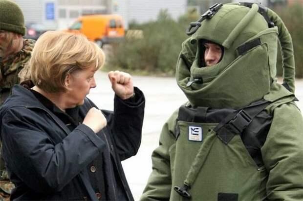 Меркель нанесла ответный удар по США