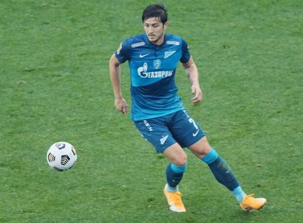 Азмун покинул лазарет вслед за Малкомом и Дриусси и в составе «Зенита» вылетел на матч с «Лацио