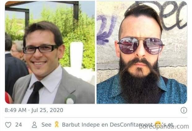 ВТвиттере решили посмотреть, как меняется человек запять лет