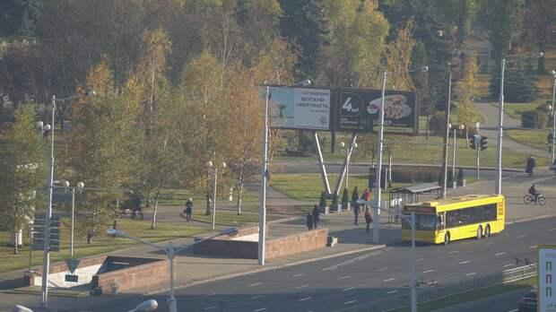 В Минске из общественного транспорта исчезли памятки о масочном режиме