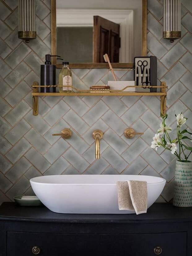 Идеи для современного дизайна ванной комнаты