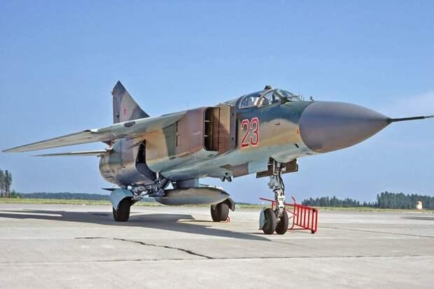 МиГ-23М. /Фото: img.rg.ru