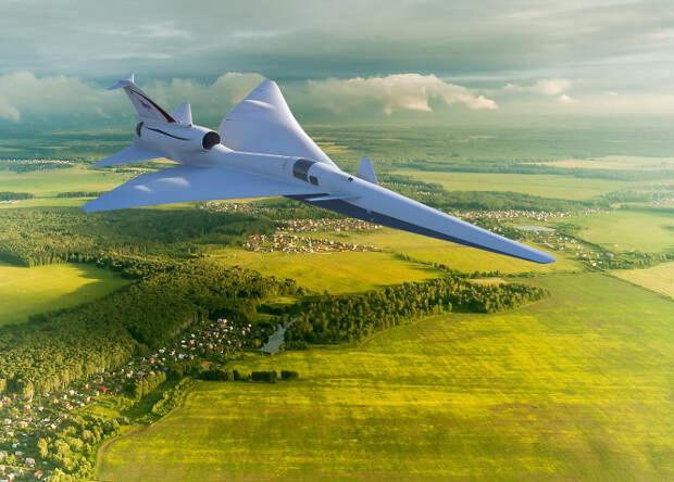 «Тихий» сверхзвуковой самолет получил обозначение